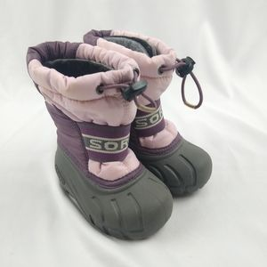 Baby Girls Sorel Snow Boots 6